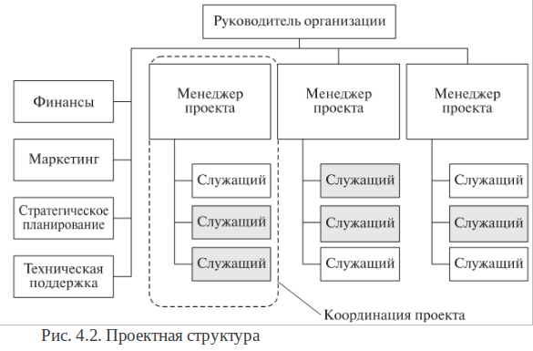 Проектная структура